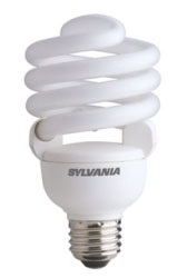 Sylvania 29786 40 W 82 CRI 2700 K 2600 lm Medium Base Twist Electronic Compact Fluorescent Lamp