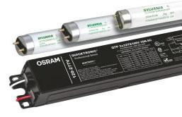 Sylvania 49907 120 to 277 Volt 25 to 32 W 2850 Lumen Instant Start Parallel Circuit T8 Electronic Ballast