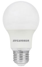 Sylvania 74080 120 Volt 6 W 80 CRI 5000 K 450 lm Frosted Medium Base A19 LED Lamp