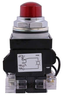 GE CR104PLT22R PUSH LIGHT