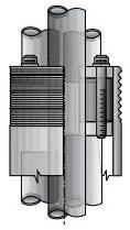 OZ-G CSBI-350P-1 3-1/2 COND BUSHING