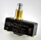 Selecta Products BZ-2RQ1-A2 125 Volt 15 Amp SPDT Overtravel Plunger Actuator Basic Limit Switch