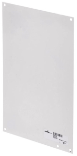 B-Line Series N108P 10 x 8 Inch Panel White Steel for Enclosure