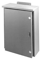 B-Line Series N3624P 36 x 24 Inch White Steel Panel for Hinge Cover Enclosure