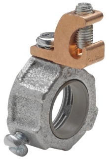 Crouse-Hinds Series GLL6 10C 2 Inch Malleable Iron 150 Degrees C Insulated Threaded Rigid/IMC Bushing