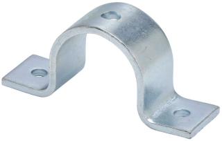 B-Line Series B2400-11/4ZN 1-1/4 Inch Zinc Plated Standard Pipe Strap