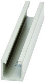 B-Line Series Bfv22-120 120 x 1-5/8 x 1-5/8 Inch Beige Vinyl Ester Resin Solid Back Fiberglass Channel