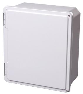 B-Line Series 181610-SDF 18 x 16 x 10 Inch Type 4X Fiberglass Premier Screw Cover Enclosure