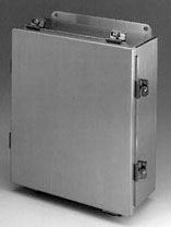 B-Line Series AW1210SP 12 x 10 Inch JIC Stainless Steel Panel for Enclosure