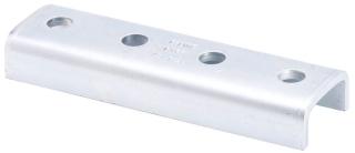 B-Line Series B167ZN 4-Hole Zinc Plated Splice Clevis