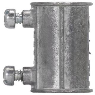 Crouse-Hinds Series 460DC 1/2 Inch Die-Cast Zinc Set Screw EMT Coupling
