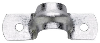 Crouse-Hinds Series 496 4-3/4 Inch Steel 2-Hole Rigid Conduit Strap