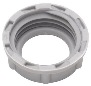 Crouse-Hinds Series 932 3/4 Inch Plastic 105 Degrees C Insulated Threaded Rigid Conduit Bushing