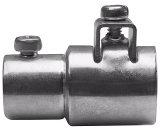 Crouse-Hinds Series ACCSS75 3/4 Inch Steel Set Screw EMT to FMC Combination Coupling