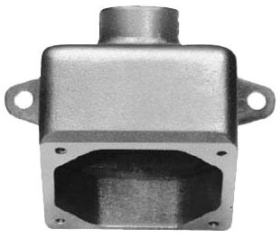 Crouse-Hinds Series ARE56 1-1/2 Inch Hub 60 Amp Receptacle Housing Back Box