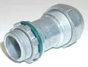Bridgeport 595-DC2 3/8 Inch PVC Jacketed MC Cable Connector
