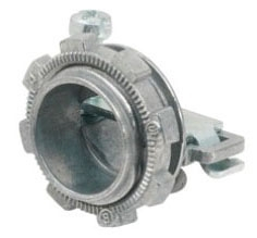 Bridgeport 651-DC2 3/8 Inch 1 Screw Non-Metallic Connector