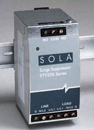 SolaHD STV25K-10S 120 VAC 20 Amp Input 1-Phase 2-Wire Din Rail Surge Protective Device