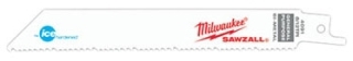 Milwaukee Tool 48-00-4091 6 Inch 8/12 TPI Ice Hardened Sawzall Blade