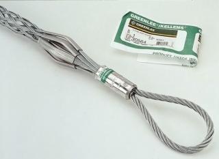 Greenlee 30578 36 Inch Galvanized Steel Flexible Eye Double Weave Conduit Pulling Grip