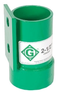 Greenlee 00781 2-1/2 Inch Screw-On Cable Puller Coupling