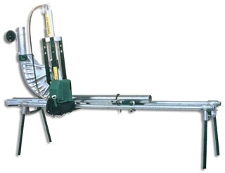 Greenlee 881CTDE980 2-1/2 to 4 Inch EMT/Rigid/IMC Steel Reinforced Follow Bar Hydraulic Conduit Bender