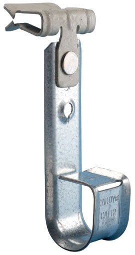 Caddy CAT1258SM 3/4 Inch Pre-Galvanized Steel Cable Support J-Hook