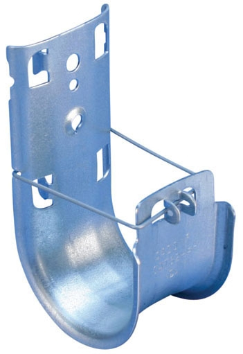 Caddy CAT16HP 50/Pack 1 Inch Pre-Galvanized Steel Cable Support J-Hook