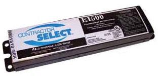 Power Sentry EI500 M12 2.3 W 120/277 Volt 500 Lumen Black 20-Gauge Steel Fluorescent Battery Pack