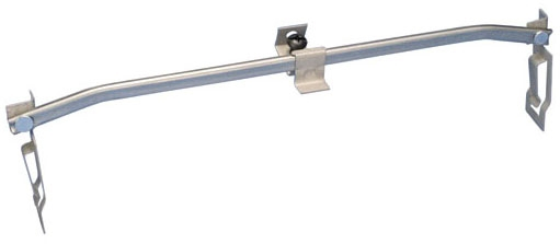 Caddy 51220 20 Inch Pre-Galvanized Steel T-Bar to Electrical Box T-Grid Box Hanger
