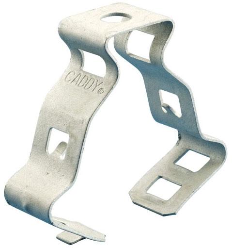 Caddy 812M 1/2 to 3/4 Inch Steel Snap Close Conduit Clamp EMT Conduit Clip