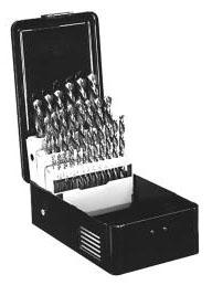 Minerallac 33335 21-Piece 1/16-3/8 Inch x 64 THS Trinado Drill Set