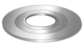 Minerallac 33406 1-1/4 x 1/2 Inch Reducing Washer