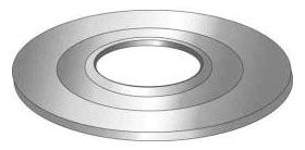Minerallac 33430 2-1/2 x 1 Inch Reducing Washer