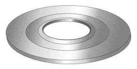 Minerallac 33452 4 x 2-1/2 Inch Reducing Washer