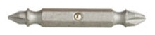 Minerallac 40014 #0 and #3 Steel Phillips Double Ended Screwdriver Bit