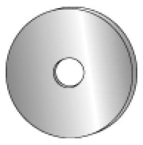 Minerallac 40725-6 1/4 x 1-1/4 Inch Zinc Plated Steel Fender Washer