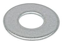 Minerallac 70325J 1/4 Inch 18-8 Stainless Steel Flat Cut Washer