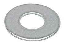 Minerallac 70335J 3/8 Inch 18-8 Stainless Steel Flat Cut Washer