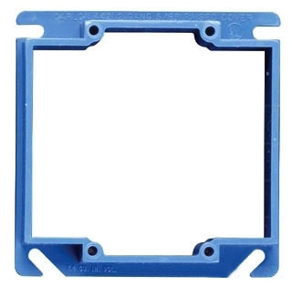 Carlon A420 2-Gang 4 Inch Side 1/2 Inch Raised Square Cover