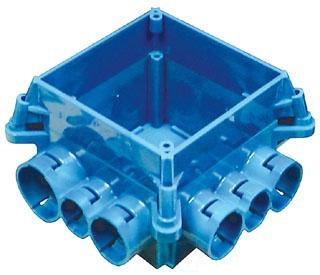 CARLON A863-4SQX MUD BOX FOUR*NON-RETURNABLE TO MANUFACTURER*