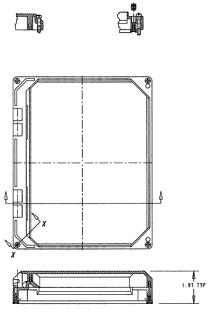 CARLON NI88W 8X8 HNG WINDOW KIT