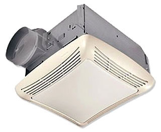 NUT 763RLN 50CFM FAN/LIGHT
