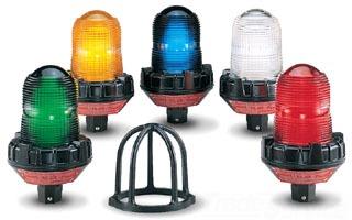 FED-SIG 191XL-120-240B FLSHG LED LT