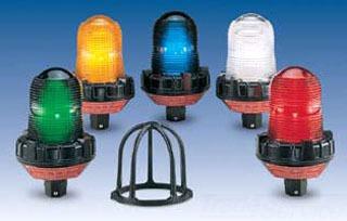 FED-SIG 191XL-120-240R FLSHG LED LT