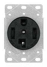 CWD 1257-SP 30A 125/250V FL RCPT
