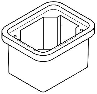 QZT PC0608BA06 BOX W/NO BASE 6-IN