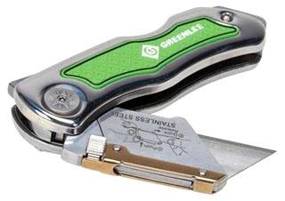 GRN 0652-22 SS FOLDING UTIL KNIFE