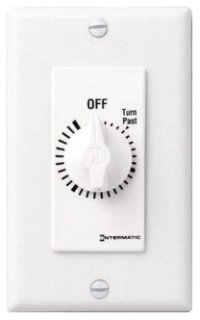 ITS FD2HW WHT 2HR WALL TIMER
