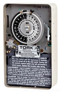 TORK 7200 DPST 120V 40A TIME SWITCH